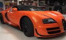 Bugatti's Veyron Grand Sport Vitesse visits Jay Leno's Garage