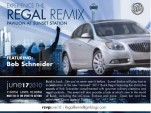 Buick 'Regal Remix' invitation