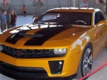 Bumblebee Camaro From Transformers 2 At Chicago Auto Show
