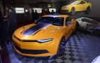 Transformers 4 Camaro Concept And Corvette Stingray Make SEMA Showing