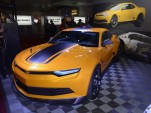 Bumblebee's new Chevrolet Camaro concept from Transformers 4, 2013 SEMA Show