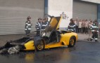 Stolen Lamborghini Murcielago Goes Up In Flames