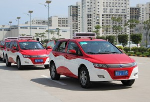 BYD e6 Electric Taxi Fleet Launched In Hong Kong To Cut Pollution
