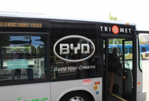 Portland Tests BYD K9 All-Electric Passenger Bus: Quick Ride