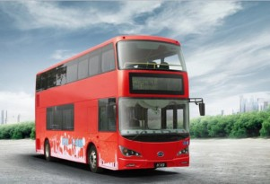 First all-electric London double-decker bus in service; made in China by BYD