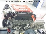 Alleged supercharged V-8 from the C7 Corvette Z06/ZR1 - Image via Corvette Online