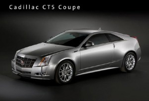 2011 Cadillac CTS Coupe Comes Next May