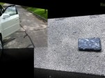 Cadillac CTS or iPad2: who wins? Image: YouTube user SoldierKnowsBest
