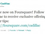 Cadillac on Foursquare