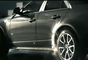 Cadillac Red Blooded Luxury ad scene