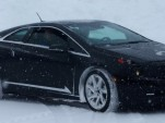 Cadillac winter tests the ELR in Michigan's Upper Peninsula - image: GM Corp
