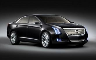 2010 Detroit Auto Show: 2012 Cadillac XTS Platinum Concept