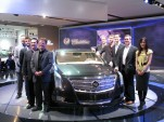 Cadillac XTS Platinum Concept design team