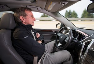Cadillac's Super Cruise system undergoing testing.