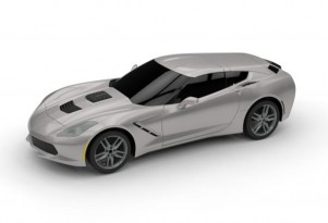 Callaway C21 AeroWagon based on the C7 Chevrolet Corvette