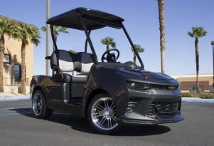 Camaro Fifty from Caddyshack Golf Carts