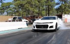 Camaro ZL1 quarter-mile times dipping into the 9s