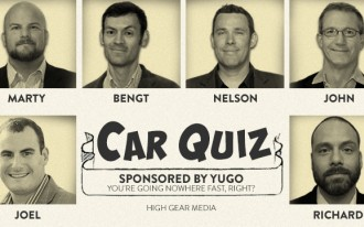 Car Quiz, Episode 1: MINIs, Fiskers, and Canyonero!