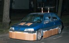 The Cardboard Car Pimper Strikes At Night