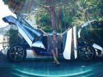 Carina Lima and her Koenigsegg One:1 - Image via carinalima_racing