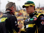 Carl Edwards and Bob Osbourne - Chad Pennington, Getty Images