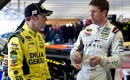 Carl Edwards and Matt Kensethh