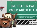 Cars2, Disney, And U.S. DOT: Only Bad Guys Drive Distracted