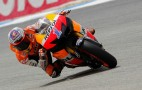 Stoner Leads Pedrosa For MotoGP Portugal Pole