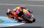 Casey Stoner Leads Friday MotoGP Practice At Estoril