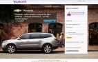 Chevrolet Parks Itself On Yahoo's Log-In Page