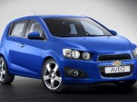2012 Chevrolet Aveo: Paris Motor Show Production Version Preview