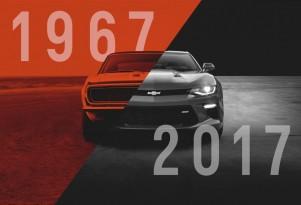 Chevrolet Camaro celebrates its 50th birthday