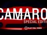 Chevrolet Camaro special editions video