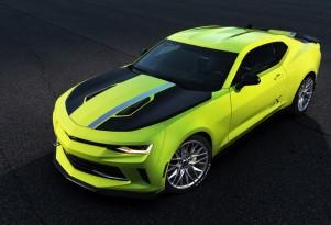 Chevrolet Camaro Turbo AutoX concept, 2016 SEMA show