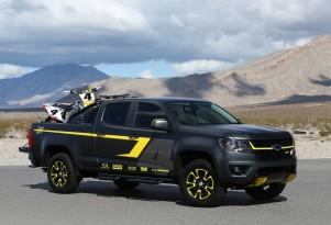 Chevy Colorado Performance Concept, 2014 SEMA show