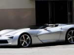 Chevrolet Corvette Stingray Concept spied as convertible in L.A. 