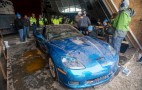 The National Corvette Museum Sinkhole Is Filled! Video