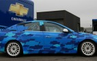 Chevrolet starts trials for WTCC Cruze race car