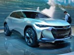 Chevrolet FNR-X plug-in hybrid crossover concept debuts in Shanghai: live photos