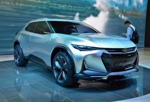 Chevrolet FNR-X plug-in hybrid crossover concept debuts in Shanghai: live photos
