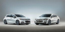 Chevrolet Malibu and Cruze Hatch Blue Line