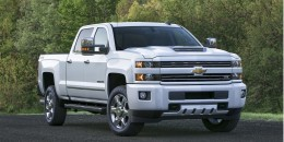 2017 Chevrolet Silverado HD rated at 445 hp, 910 lb-ft of torque