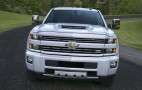 2017 Chevrolet Silverado 2500HD gets new hood scoop to feed its diesel