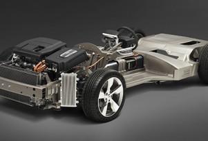 Chevrolet Volt production prototype platform