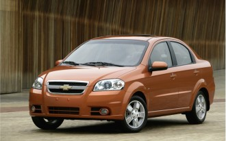Chevy Aveo Versus Honda Fit: A First Look