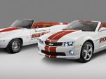 1969 and 2011 Chevrolet Camaro Convertible Indy 500 Pace Car Chevrolet