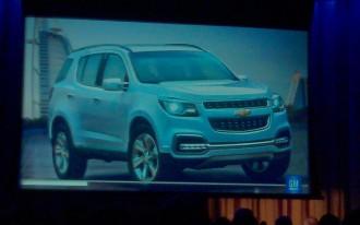 2013 Chevrolet TrailBlazer Concept Breaks Cover