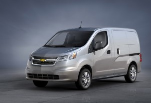 Could Small 2015 Chevy City Express Van Offer All-Electric Model?
