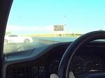 Chevy Camaro ZL1 narrowly avoids disaster at the drag strip