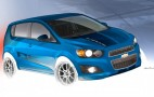 Chevy Joins The B-Spec Fray, Shows Race-Prepped Sonic At SEMA